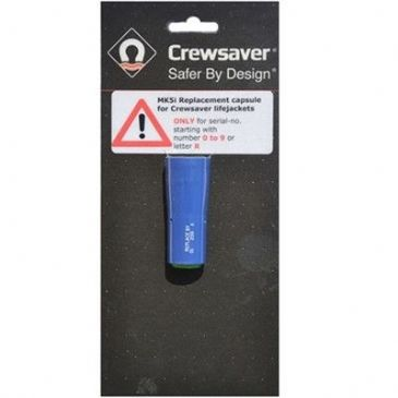 CREWSAVER RE-ARMING CAPSULE MK5i BLACK